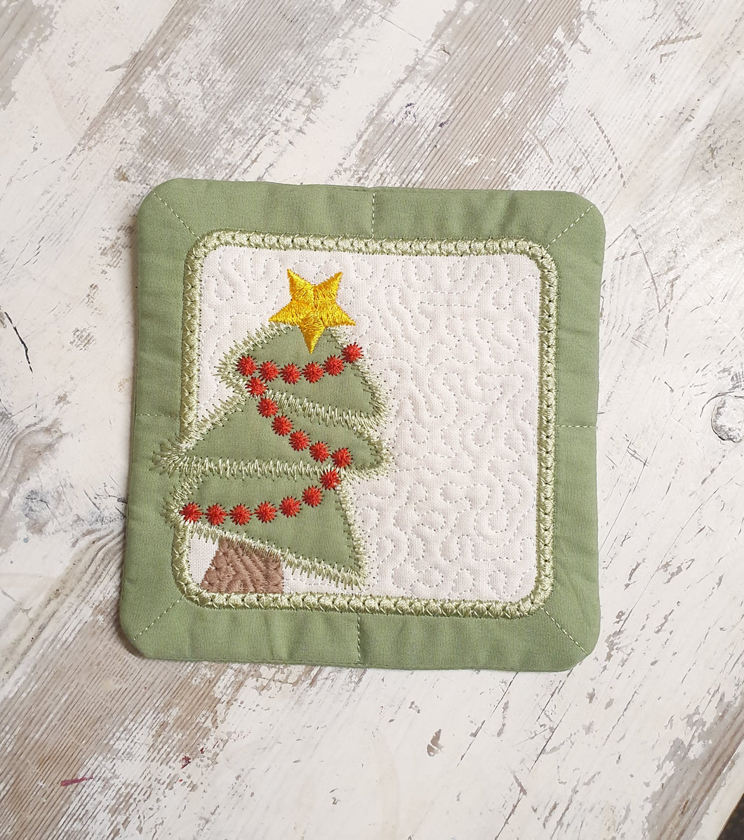 Christmas Tree Coasters 4pk