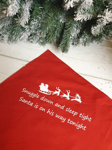Christmas Eve Pillow Case