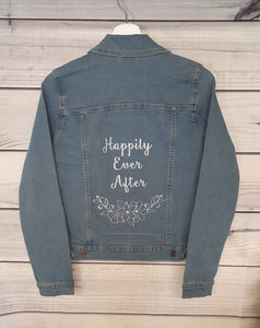 Happily Ever After Denim Jacket