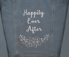 Load image into Gallery viewer, Happily Ever After Denim Jacket