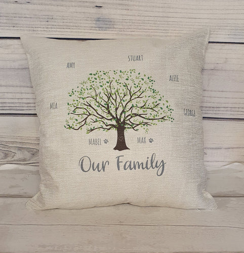 Our Family Cushion