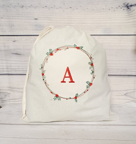FIVER FRIDAY-Embroidered Christmas Bag