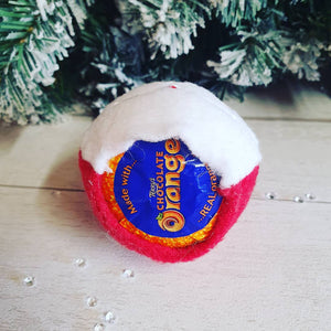 Santa Chocolate Orange Cover