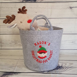 Personalised Christmas Eve Basket