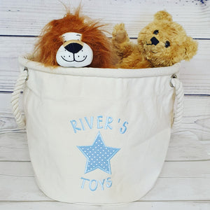 Personalised Toy Basket