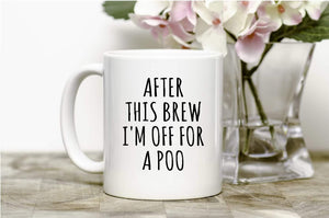After This Brew Mug