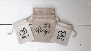 Wedding Ring Bag 11x16