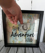 Load image into Gallery viewer, Our Adventure Fund Frame,Money Box,Adventures