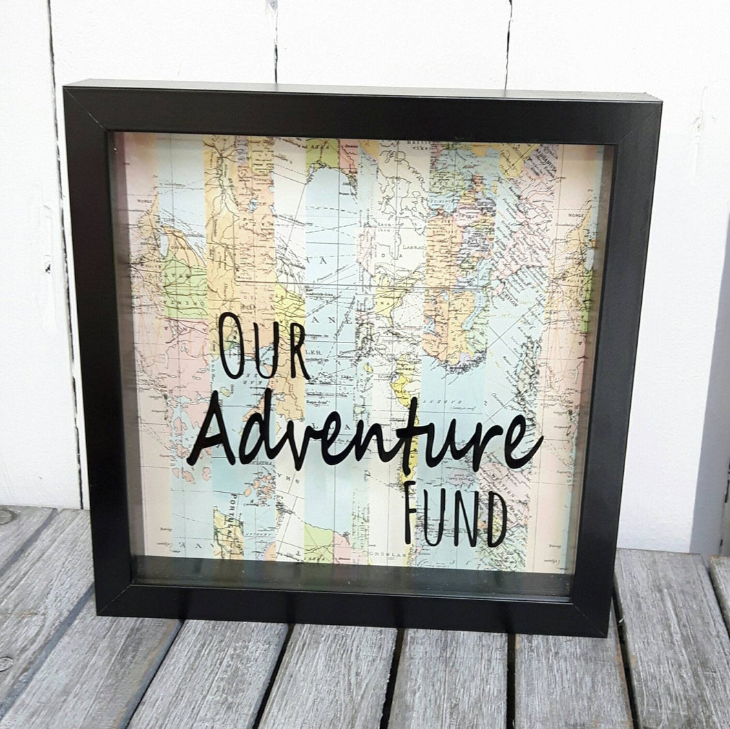 Our Adventure Fund Frame,Money Box,Adventures