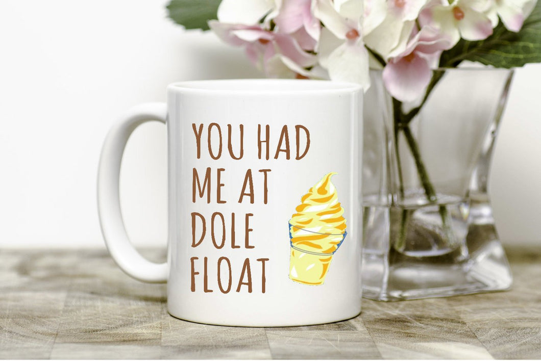 You had me at Dole Float Mug