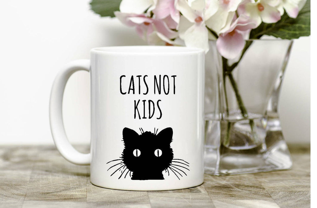 Cats not Kids Mug