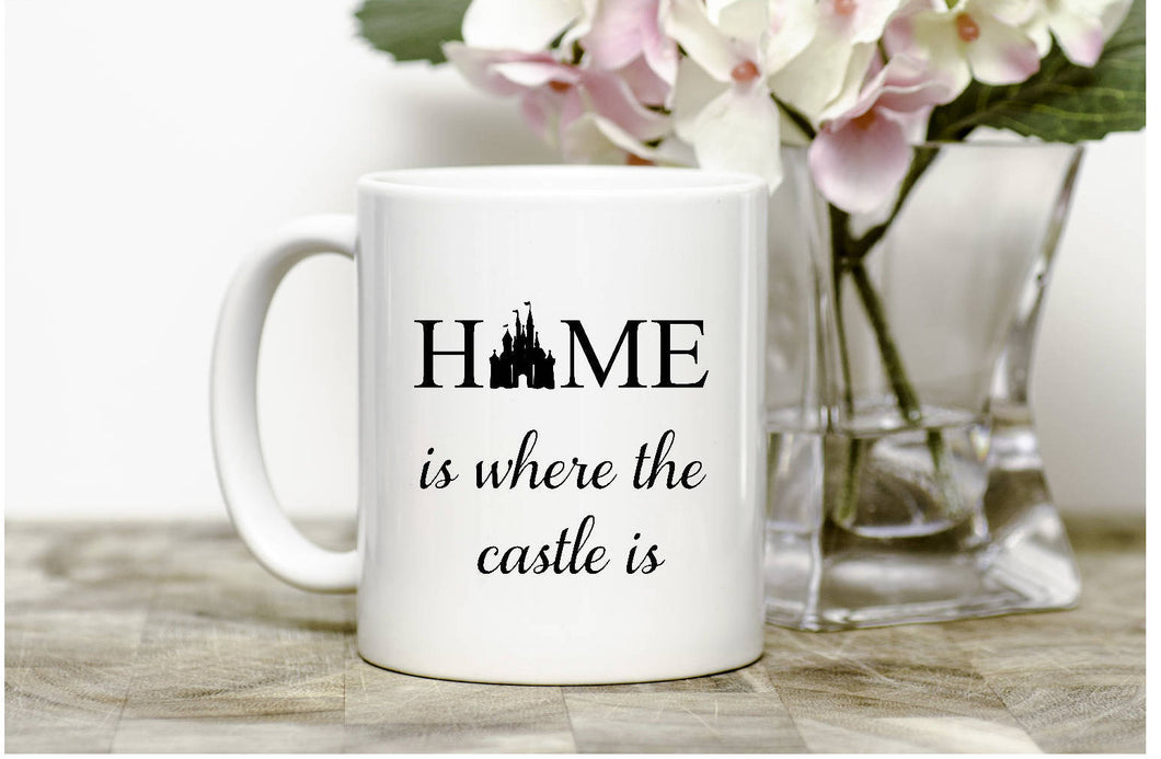 Home is where the castle is Mug
