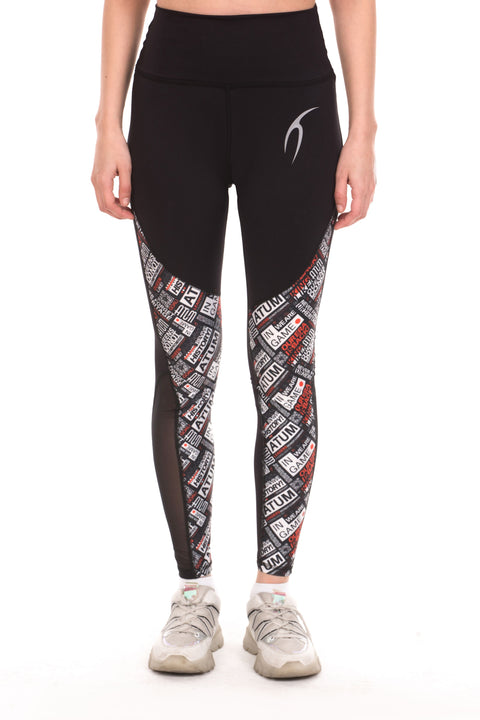 Unique Atum Pattern Woman Leggings