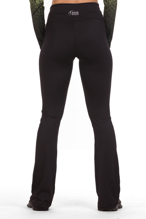 Women Leggings Wide Bottom