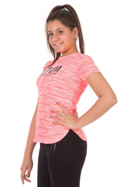 Girls Cationic Gym Top