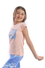 0350 Girl's Bont girls Cotton T.Shirt