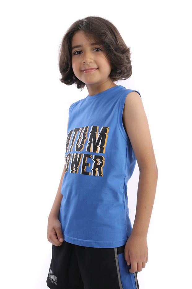0357 Boy's Atum Power Tank top