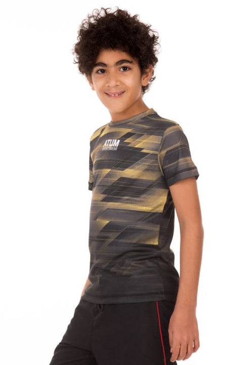 Boy's Sports Graphic T-shirt