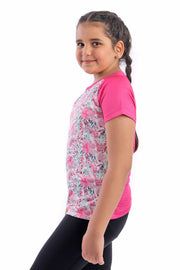 0344 Girl's Floral T.Shirt