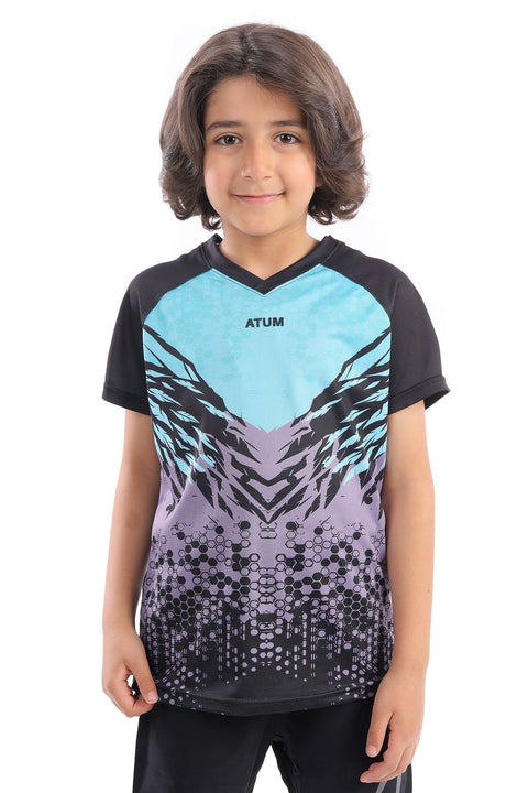 0345 Boy's Adrenaline glitch T.shirt