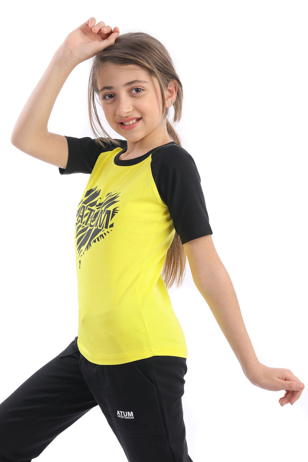 0349 Girl's Hearti Cotton T.Shirt