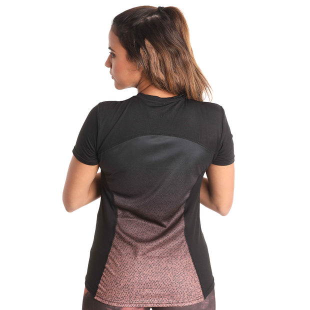 Women Mesh Cut Top