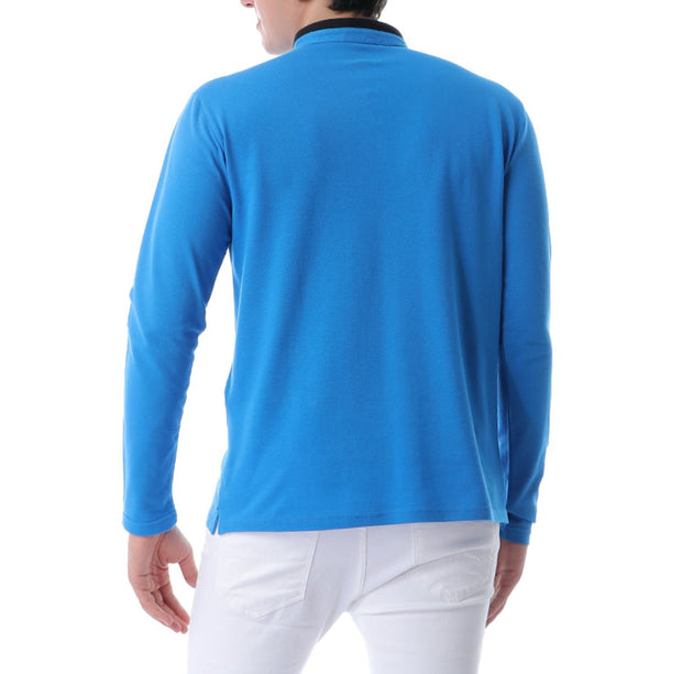 Men's Long-Sleeve Polo