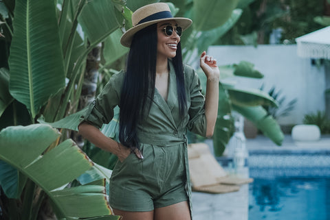 The boyfriend romper - NewPalm Collection