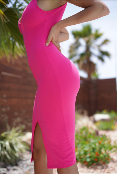 Passionately Pink dress - NewPalm Collection