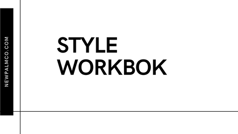 Style workbook - NewPalm Collection
