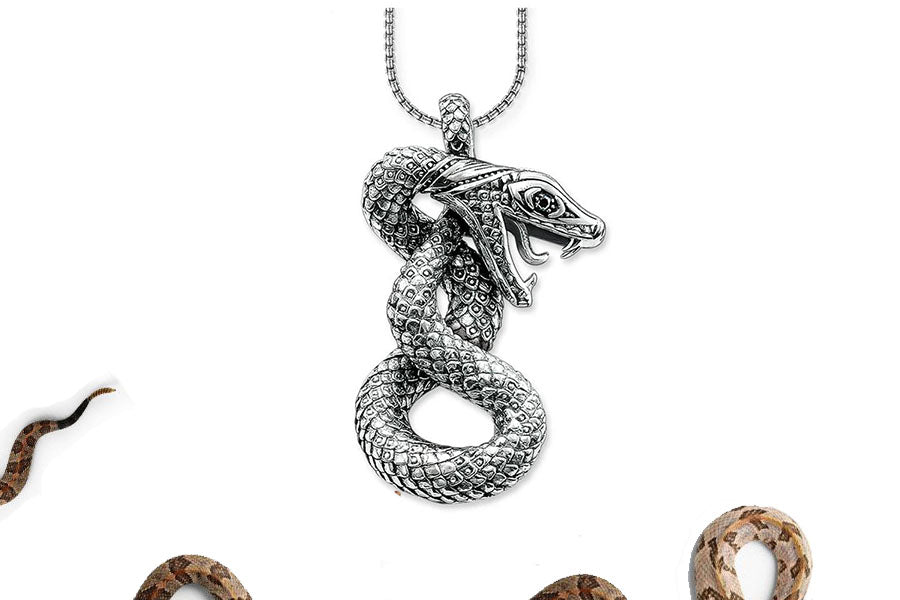 Collier Serpent