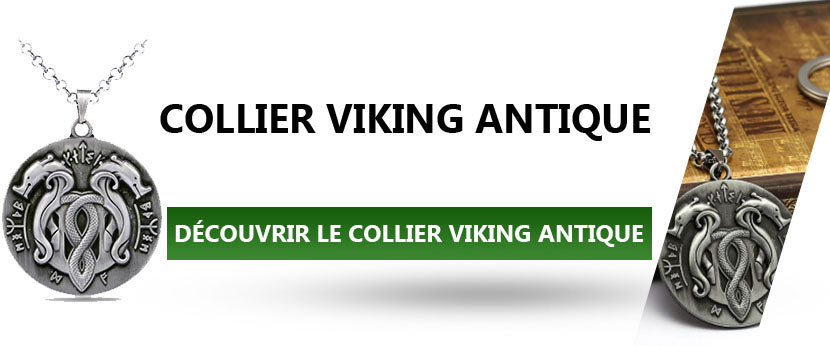 Collier Viking Antique