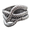Bague Serpent Biker