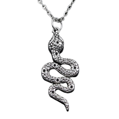 Collier Serpent Cou