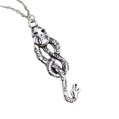 Collier Serpent Discret