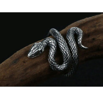 Bague Serpent Ajustable