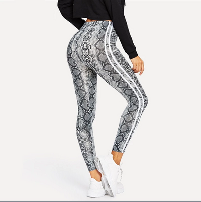 Leggings Serpent<br> Motif Vipera