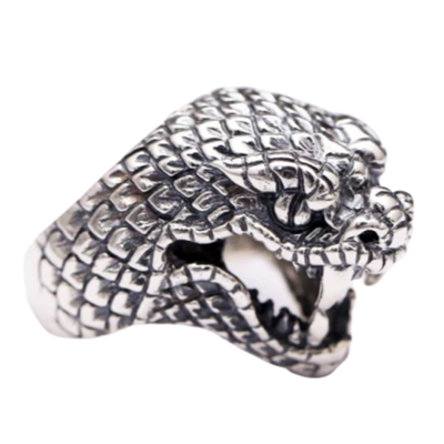 Bague Tete de Serpent