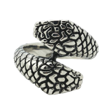 bague serpent ecaille