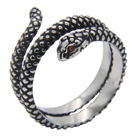 Bague Serpent Double