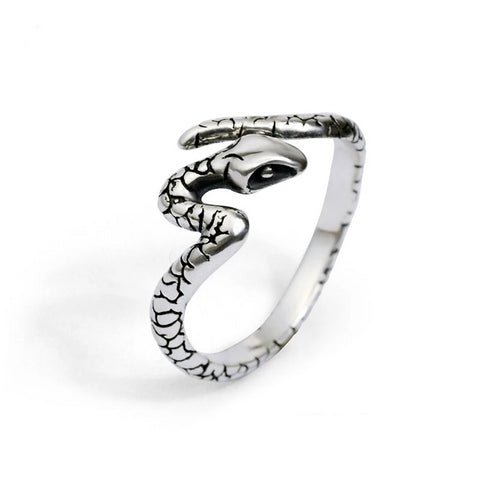 Bague Serpent en Forme de Serpent