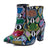 Chaussure Serpent<br> Bottines multicolores