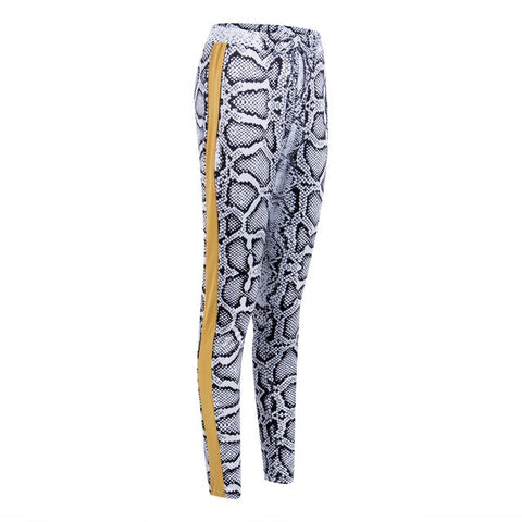 Leggings Effet Serpent
