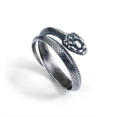 Bague Serpent Argent Index
