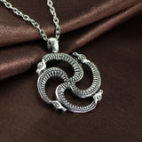 Collier Serpent Vintage