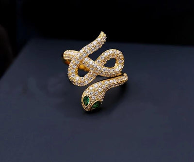 Bague Serpent Design Moderne