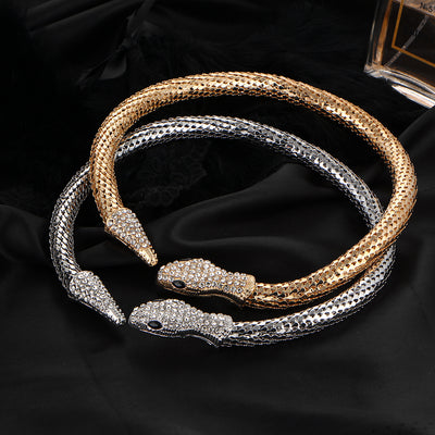 Collier Serpent Ras de Cou