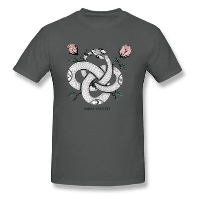 T-shirt Imprimé Serpent