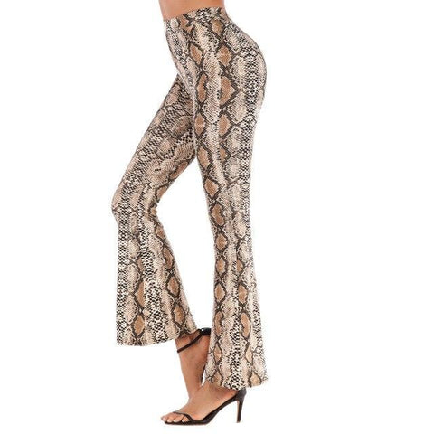 pantalon patte d'eph serpent
