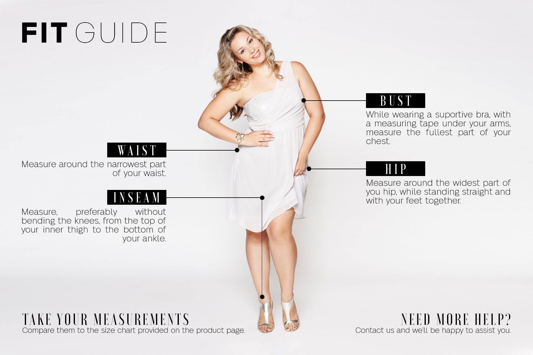 How To Measure For Fitting Clothes